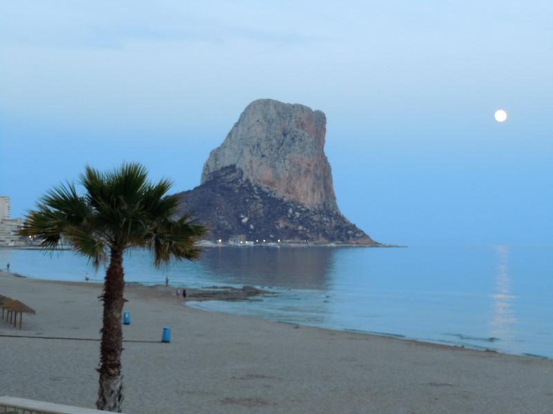 Испанский курорт Кальпе
