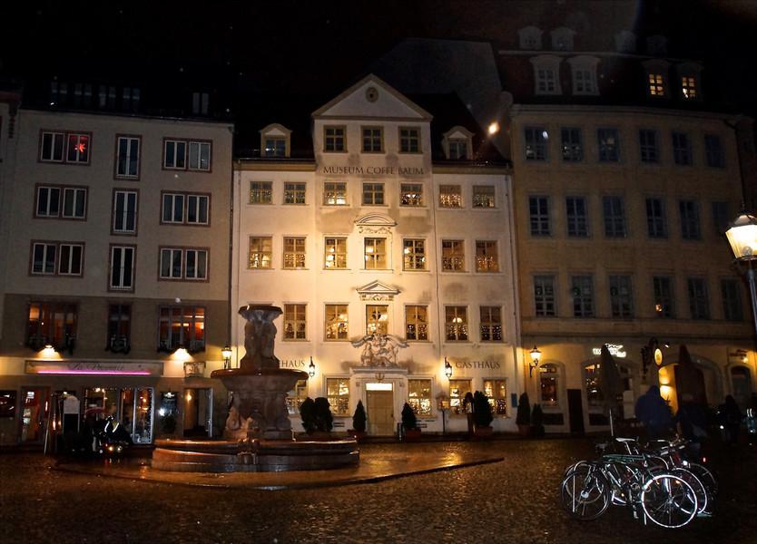 Прогулка по вечернему Лейпцигу