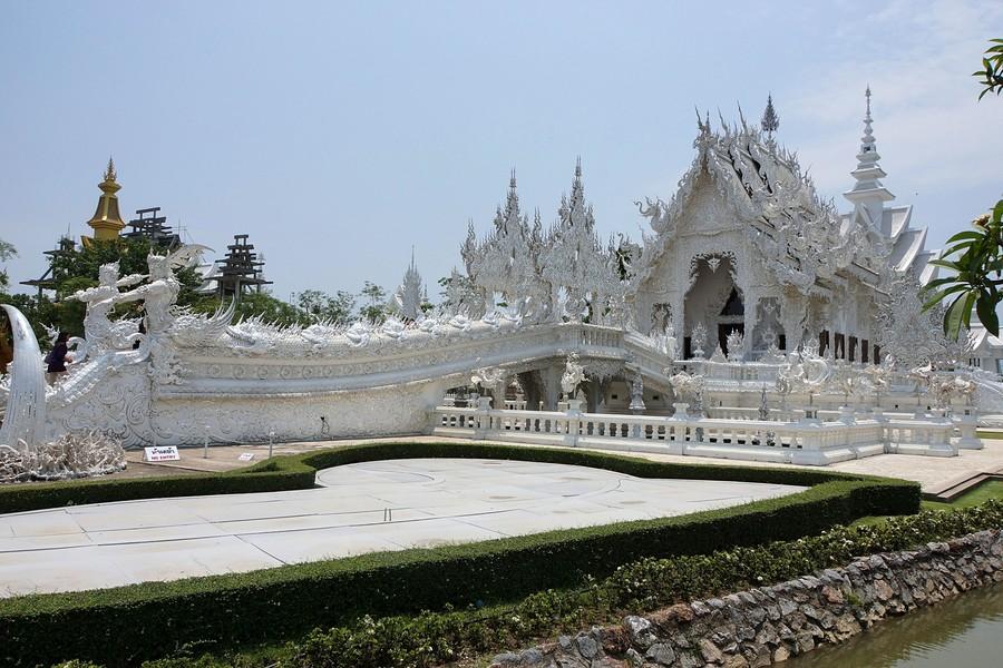 Белый Храм в Чианг Рае