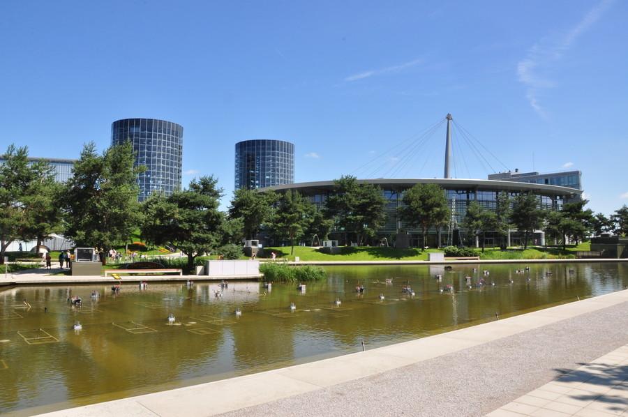 Autostadt. Автомобильный город в Вольфсбурге