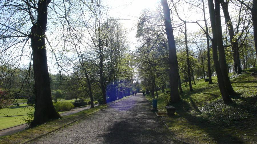 Городской парк, Уазель, Франция