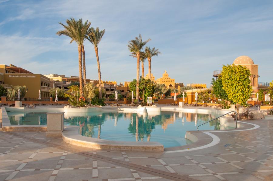Пятизвездочный отдых в Египте. Отель и аквапарк Makadi Water World