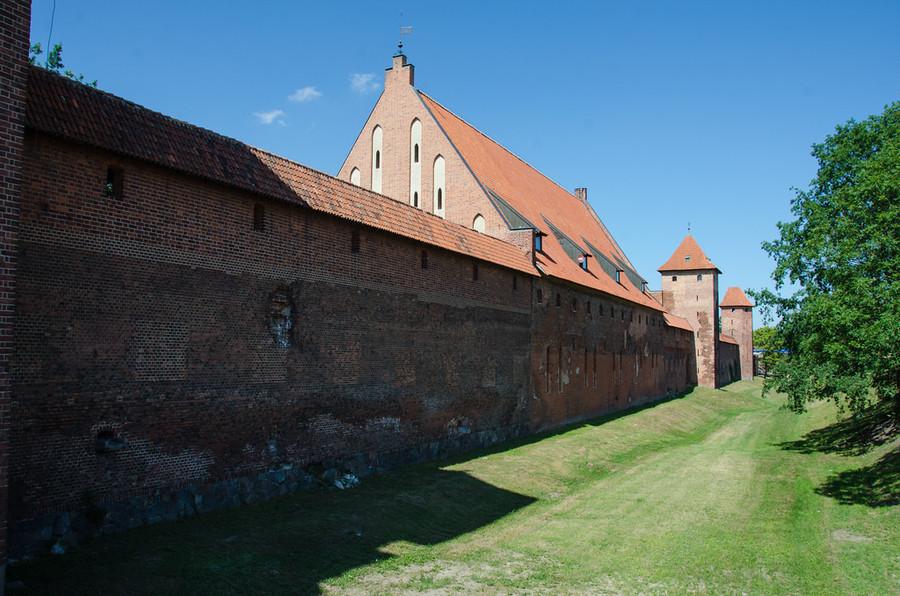 Путешествие по Европе. Замок Мальборк. Самая большая Готическая крепость в Европе