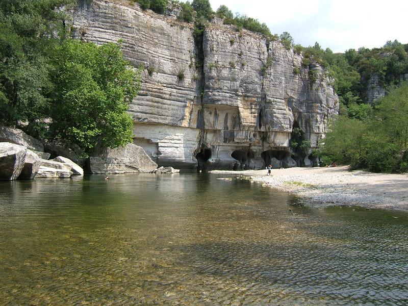 В ущелье Ардеш, Франция