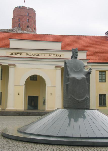 Пасмурный майский Вильнюс