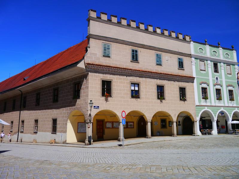 Чешский городок Телч и его Замок