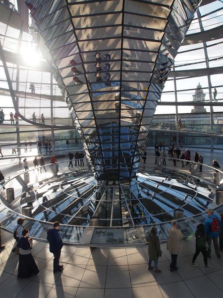 Экскурсия по Рейхстагу