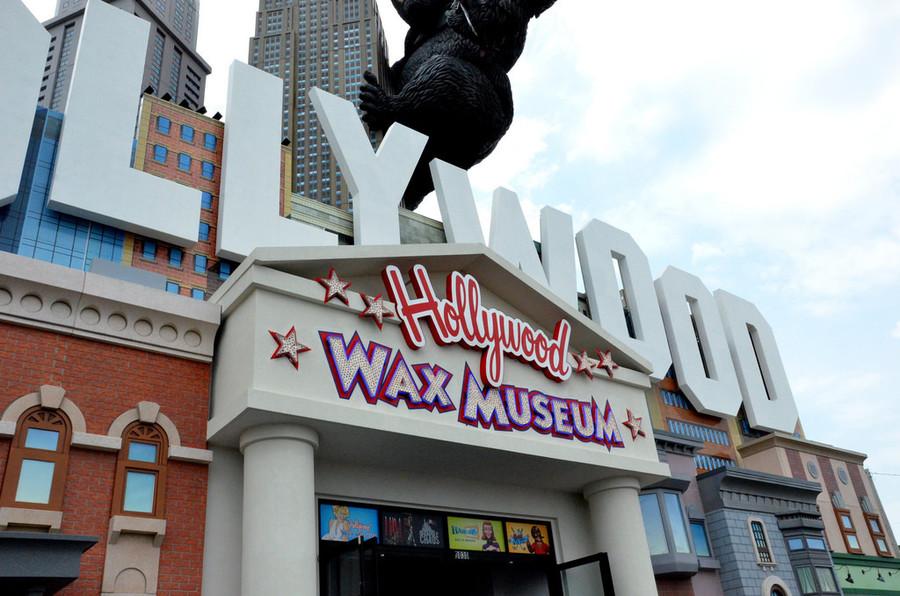Музей восковых фигур Голливуда в Лос-Анджелесе