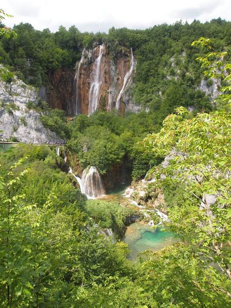 Отдых в Хорватии. Национальный парк Плитвицкие озера