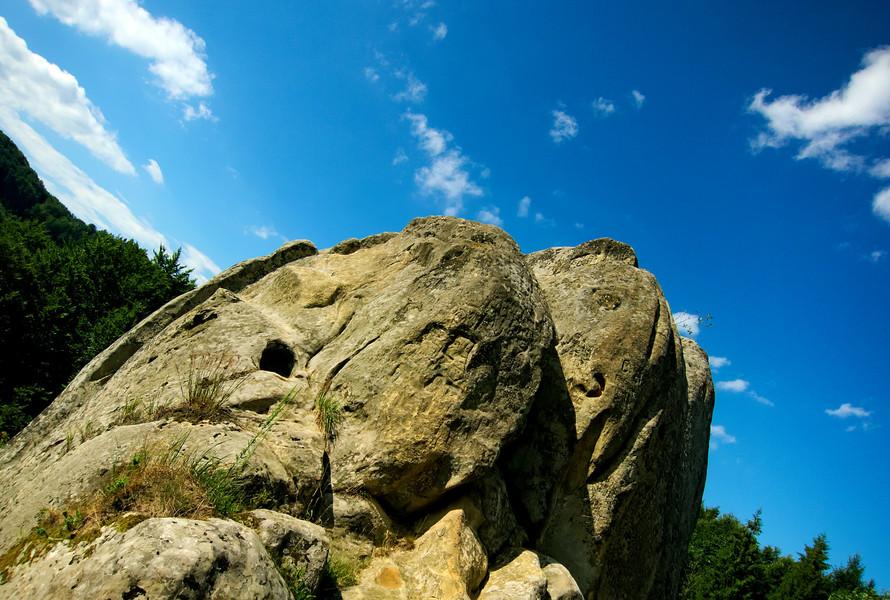 Развалины крепости Тустань