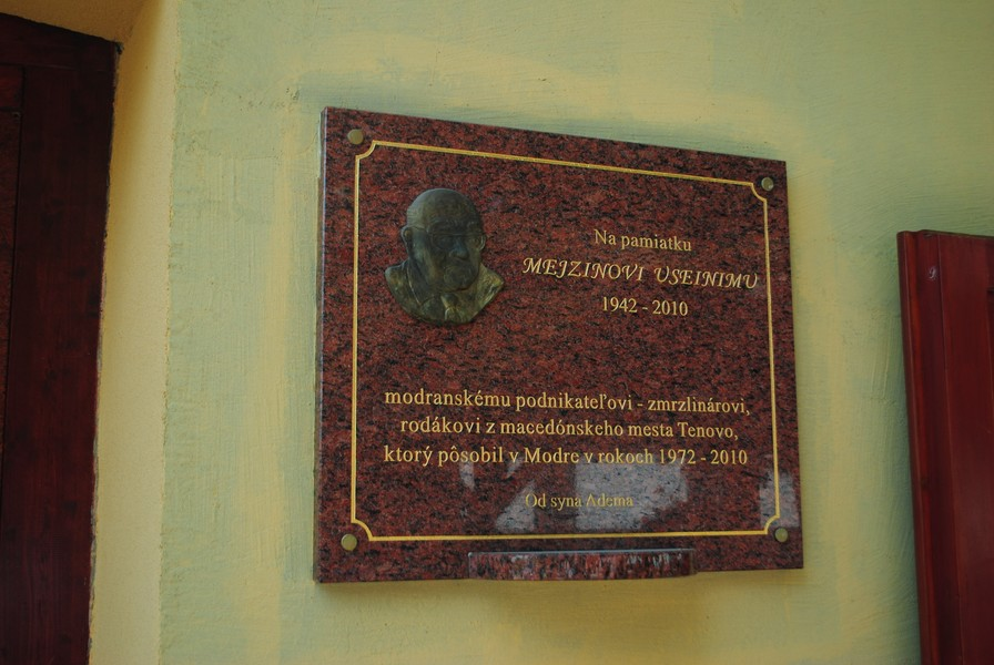 Модра - город у подножья Малых Карпат