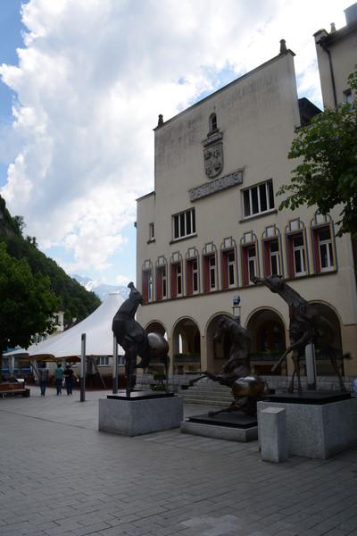 Осмотр столицы княжества Лихтенштейн - Вадуца