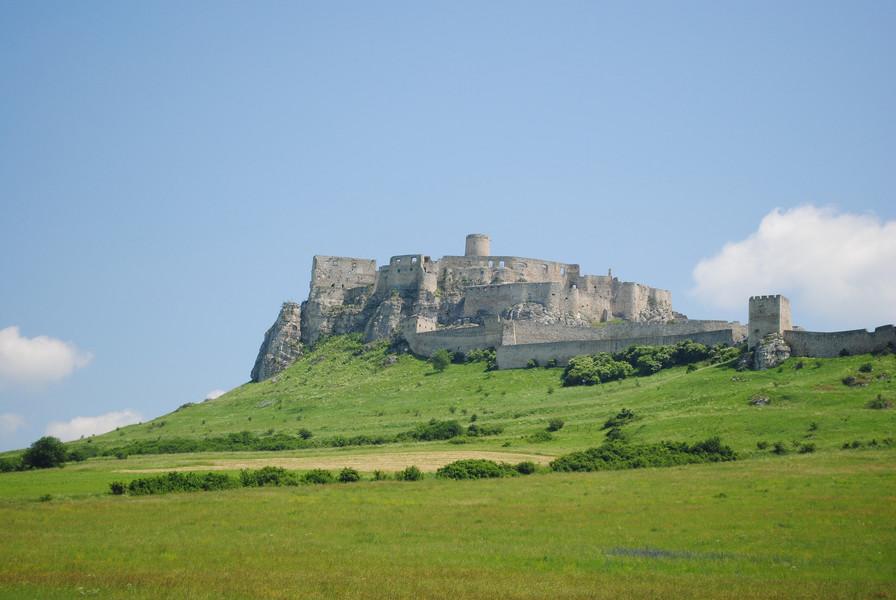 Спишский замок. Крупнейший замковый комплекс в Центральной Европе