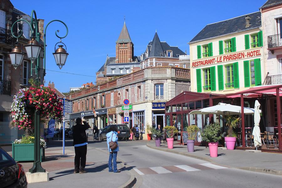 Мерс Ле-Бен - самый южный городок побережья Пикардии