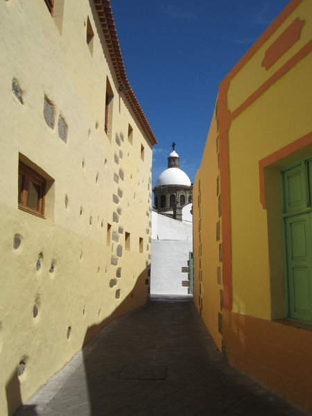 Улицы Агуимеса, остров Гран-Канария