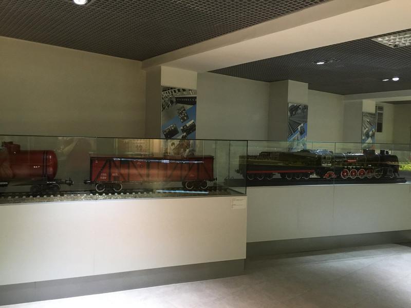 Московский музей железной дороги на Павелецкой