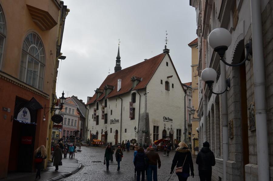 Очарование осеннего Таллина