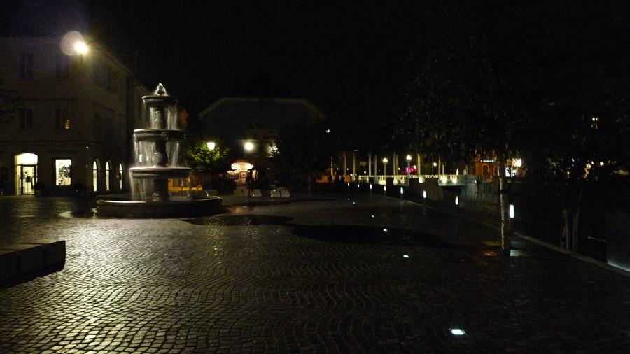 Вечерняя прогулка по Любляне