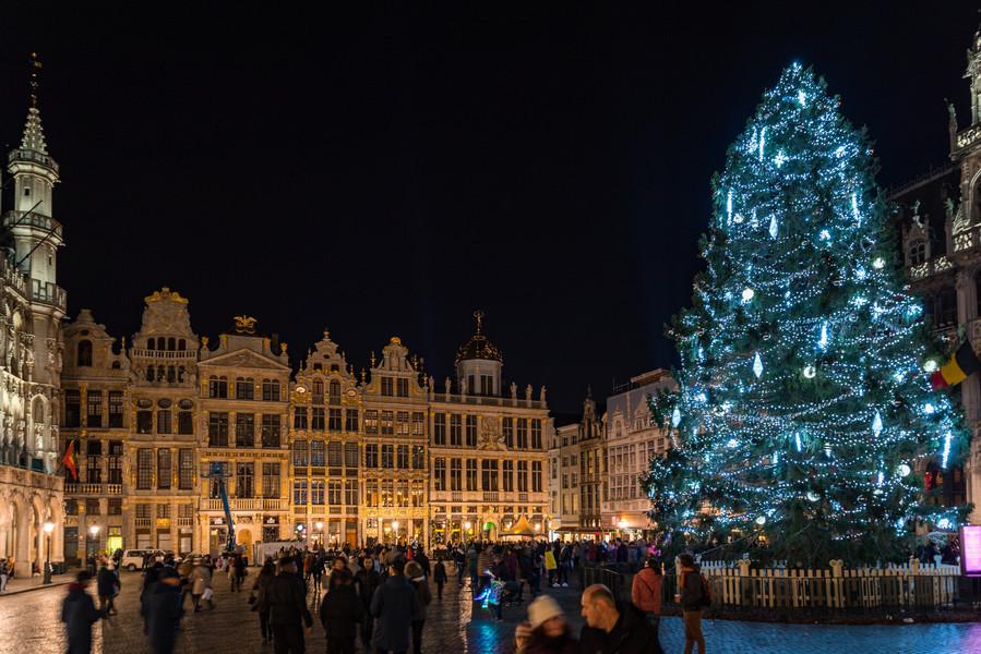 Уикенд в предновогоднем Брюсселе