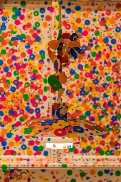 Выставка Яёй Кусама в музее Луизиана в Копенгагене