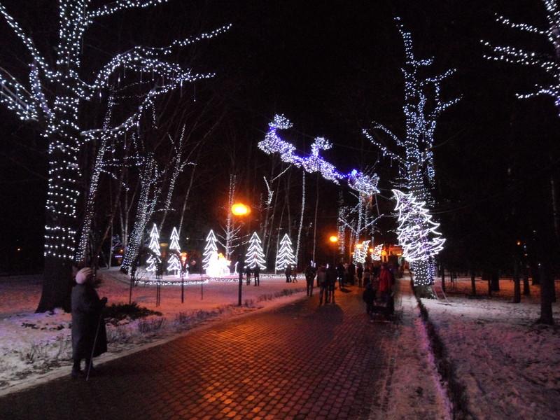 Сказочный парк в Химках!