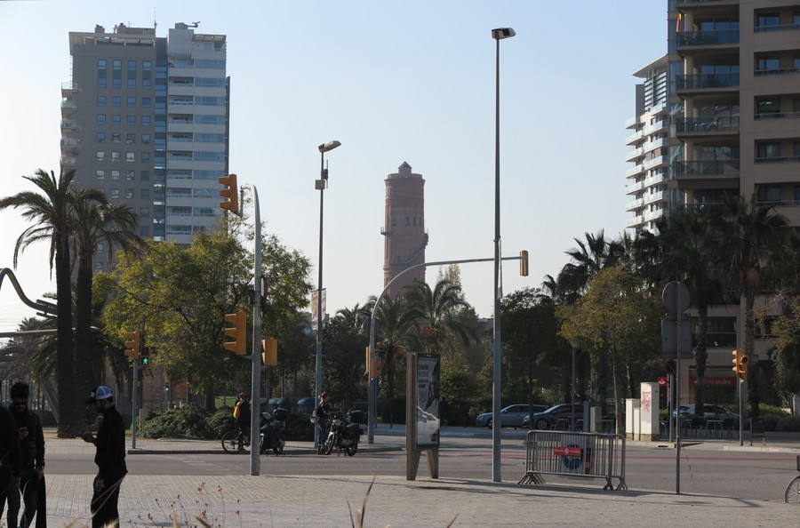 Первые дни зимы в Барселоне..