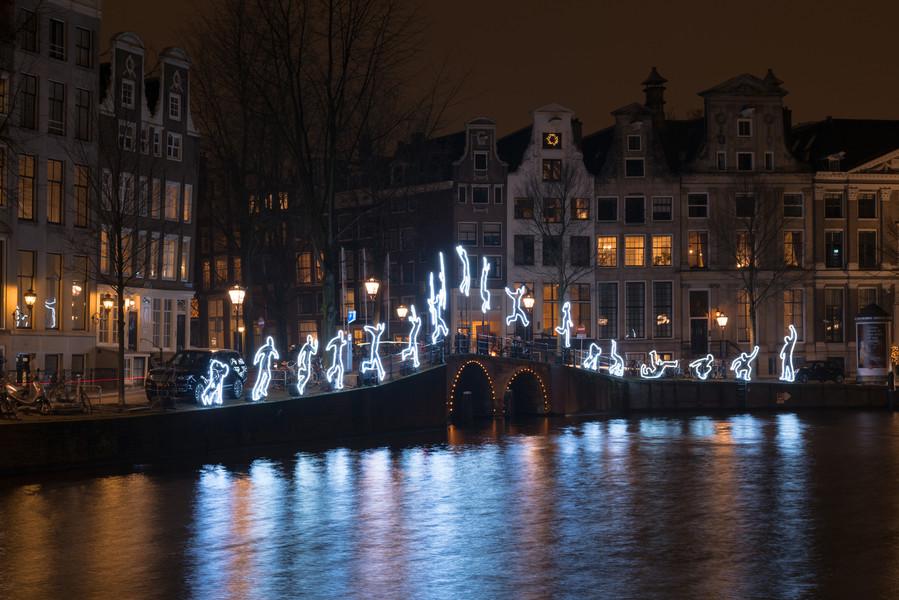 Фестиваль огней в Амстердаме - 2015