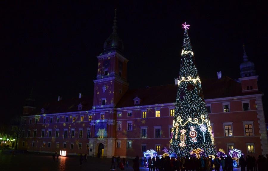 Предпраздничная Варшава