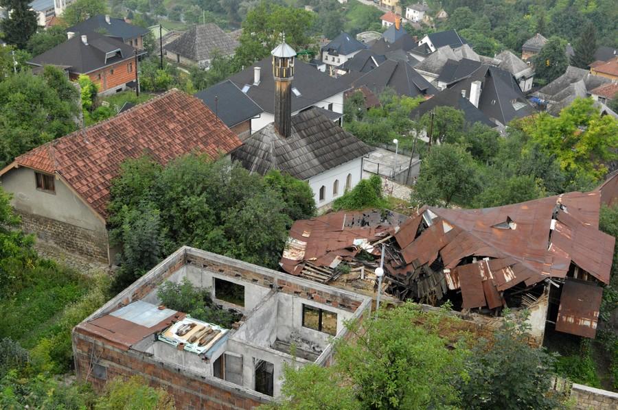 Босния и Герцеговина-2015. Река Врбас и городок Яйце