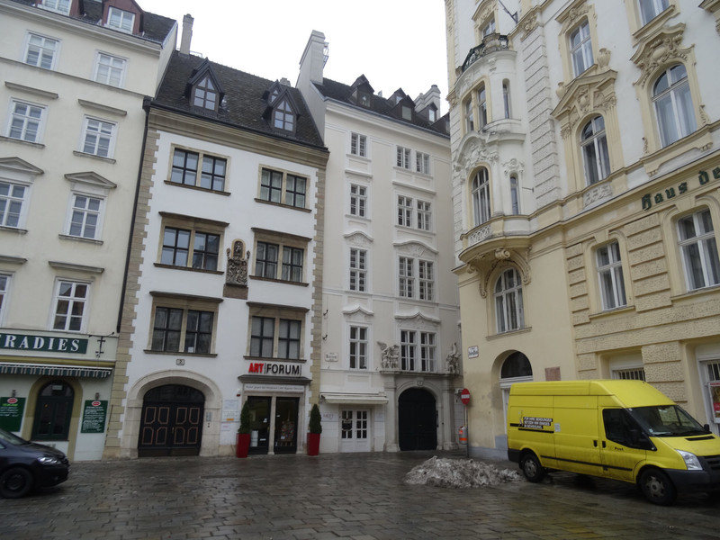 Столица Австрии. Город Вена. январь 2016