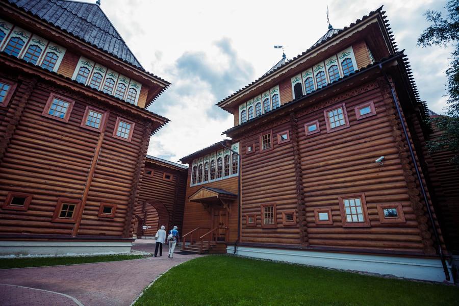 Дворец царя Алексея Михайловича в Коломенском