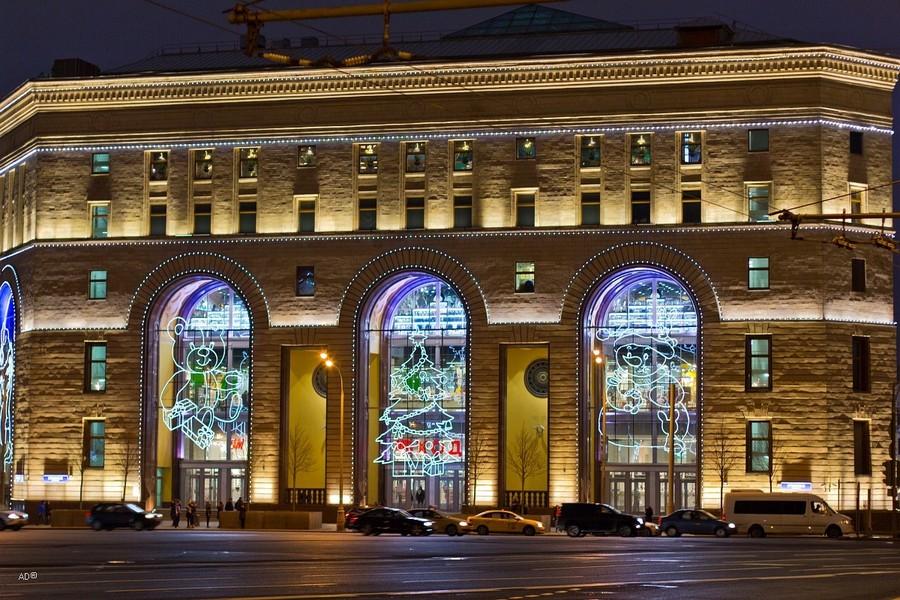 Москва поздним вечером