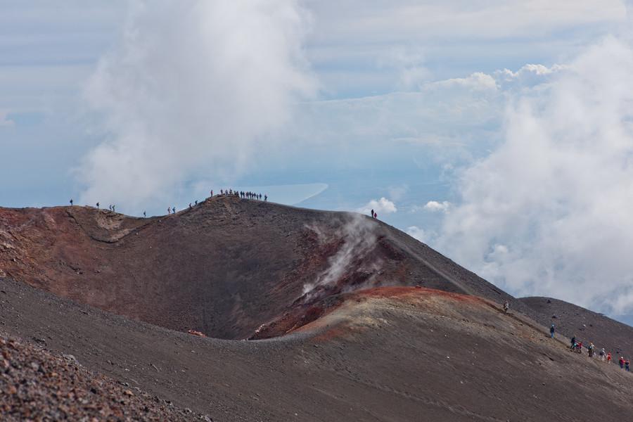 Восхождение к вулкану Этна