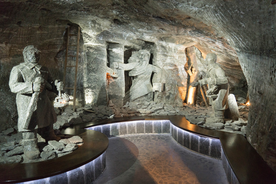 Месторождение каменной соли в городе Величка
