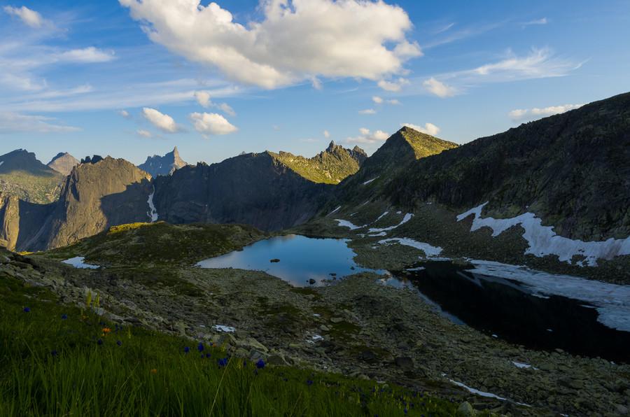 Природный парк Ергаки в Красноярском крае