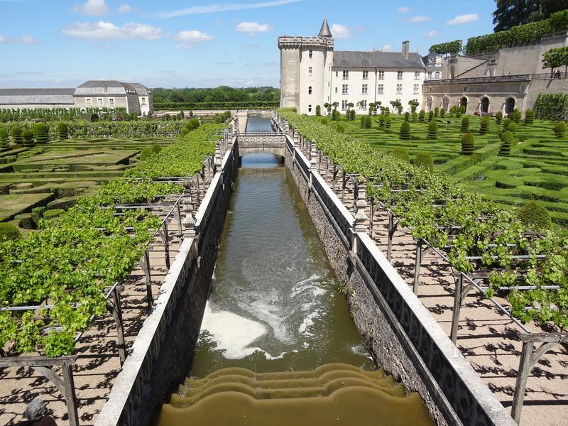 Замок Вилландри и его уникальные сады
