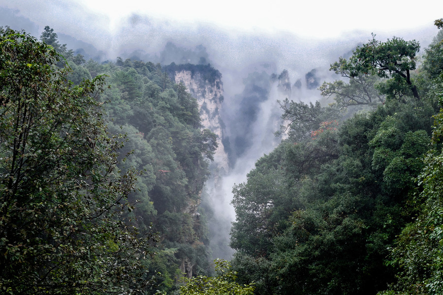Китайский Национальный парк Чжанцзяцзе