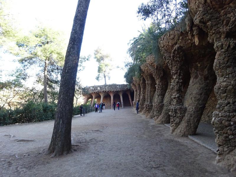 Прогулка по парку Гуэля, Барселона