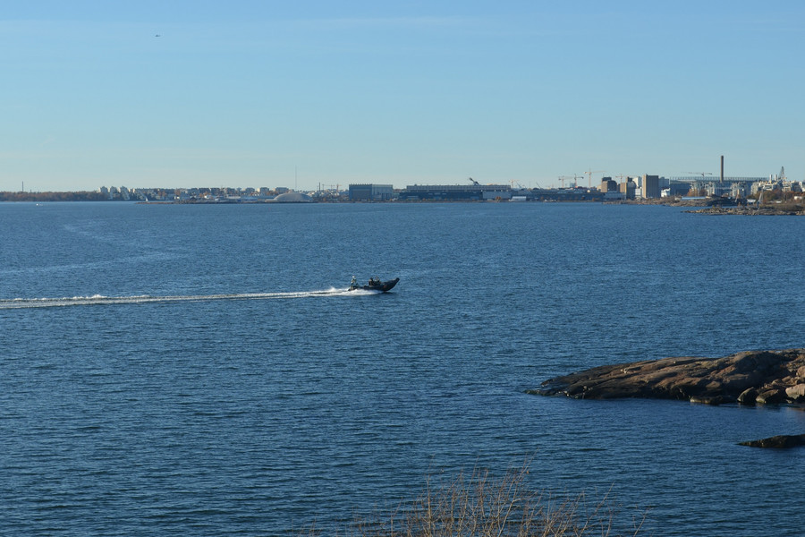 Остров-крепость Суоменлинна близ Хельсинки
