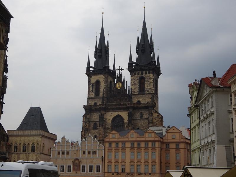 По улицам весенней Праги