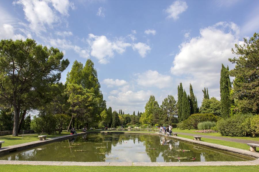 Парк Сигурта недалеко от озера Гарда