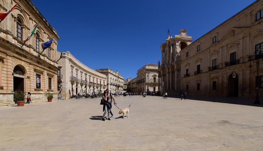 Город Сиракузы - жемчужина Сицилии