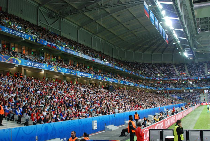 Евро-2016. Франция. Лилль. Поход на матч Россия-Словакия