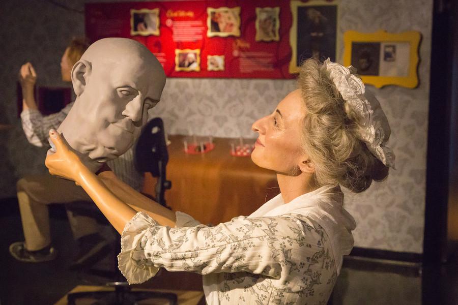 Музей восковых фигур мадам Тюссо  в Нью-Йорке