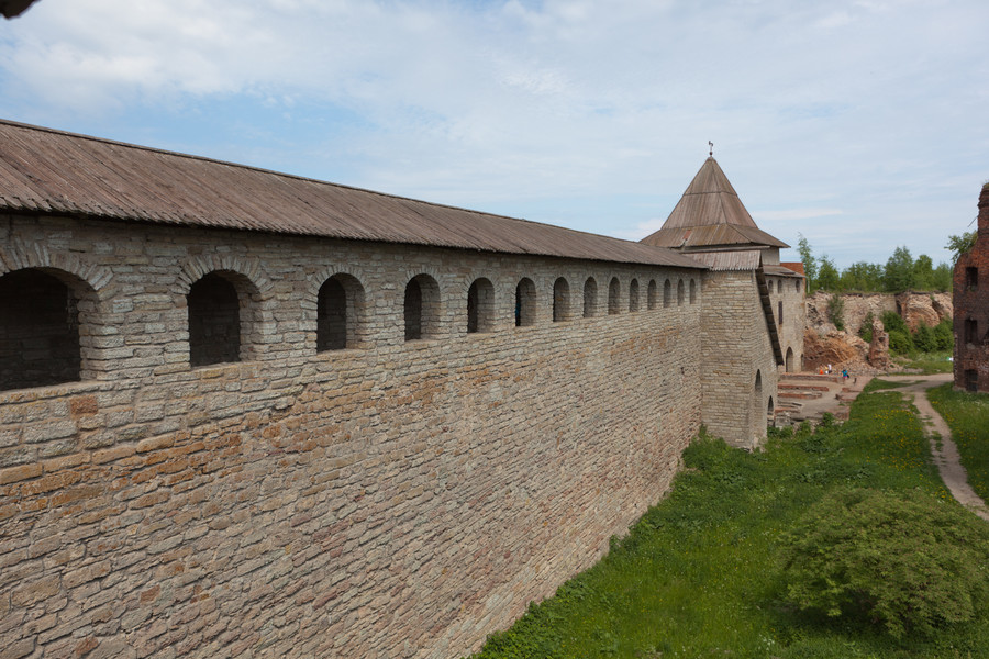 """Шлиссельбургская крепость """"Орешек"""""""
