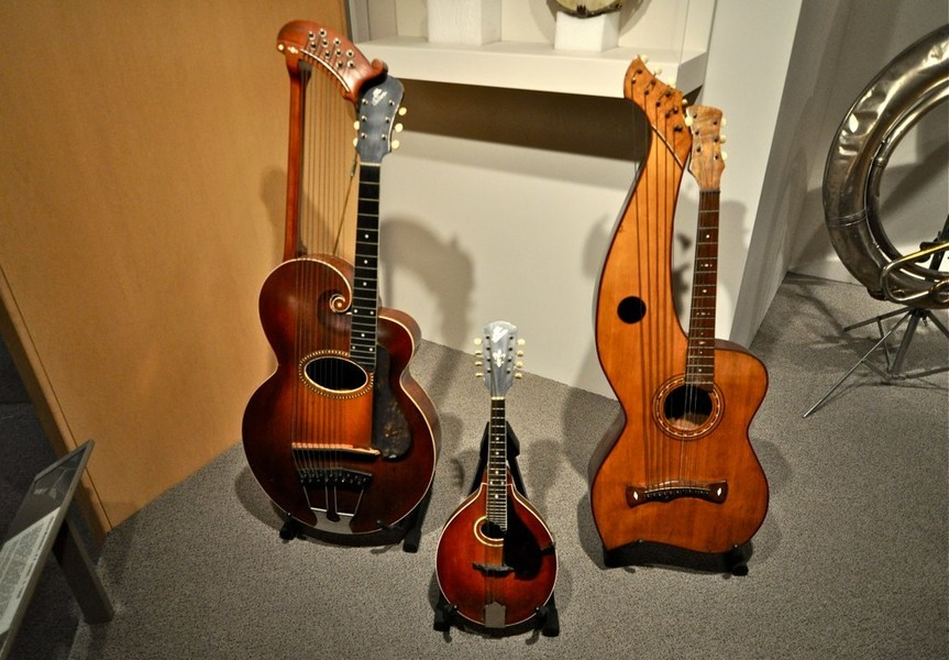 Музей истории создания музыки в Калифорнии!