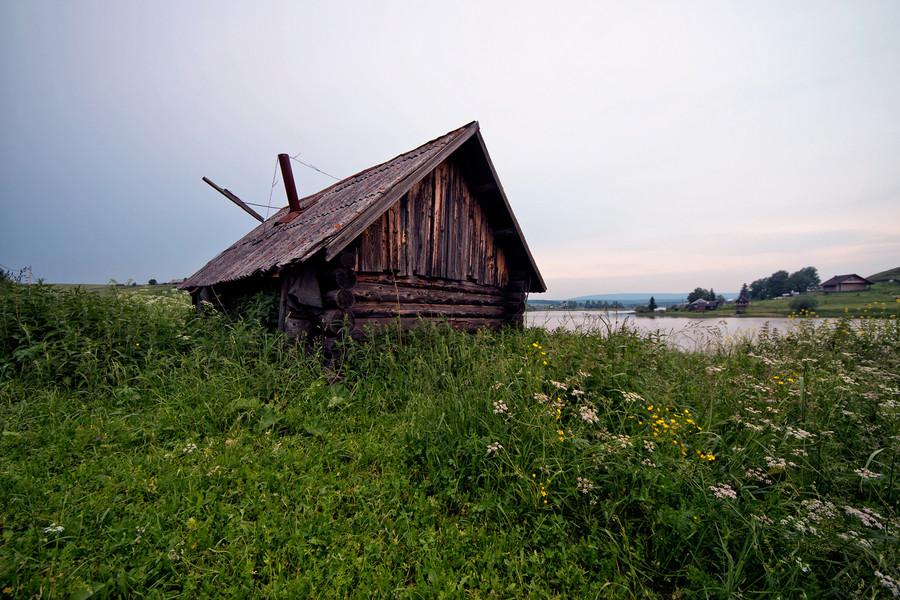 Река Чусовая близ Староуткинска