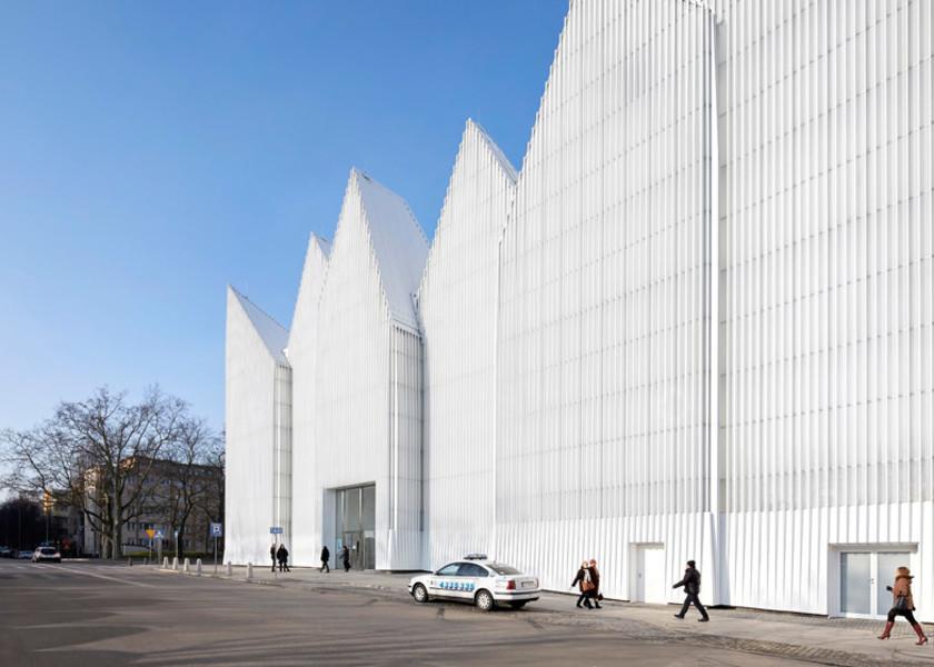 Здание филармонии в Щецине