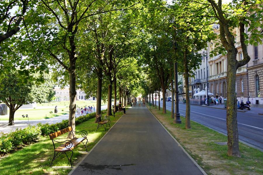Хорватия. Прогулка по Загребу в июле
