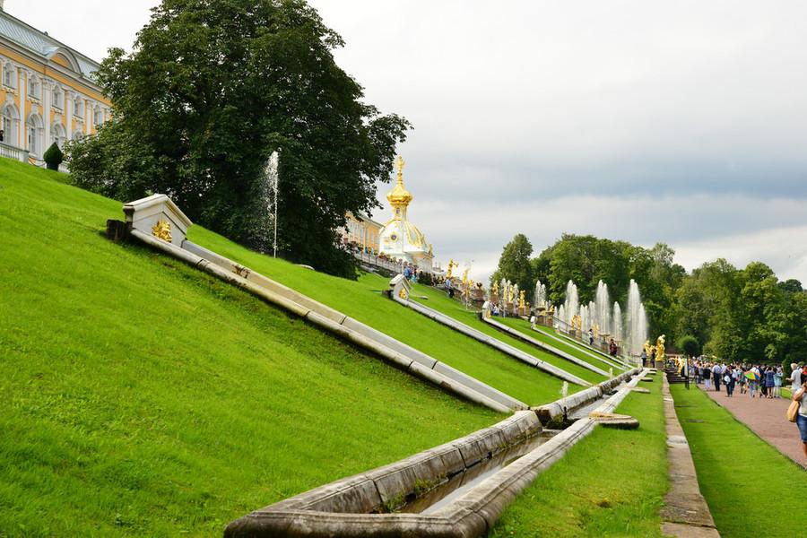 Немного фотографий из Петергофа